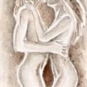 Lesbians Kissing Poster