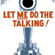 Let Me Do The Talking Poster