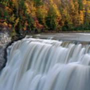 Letchworth Falls Sp Middle Falls Poster