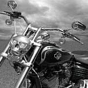 Let's Ride - Harley Davidson Motorcycle Poster