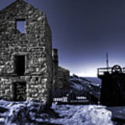 Levant Mine In Blue Poster