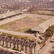 Leyton Orient - Brisbane Road - Aerial View 1 - Looking South East Poster