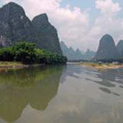 Li River At Xingping Poster