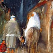 Liberty - Arriving In Bethlehem Poster