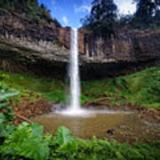 Lieng Nung Waterfall Poster