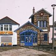 Lifeboat Station Poster