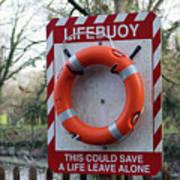 Lifebuoy Theft Poster
