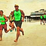 Lifeguard Runners Poster