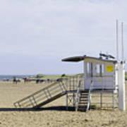 Lifeguard Station At Skegness Poster