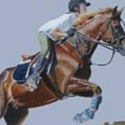 Horse Jumper Poster
