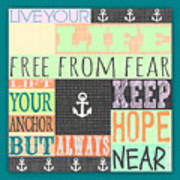 Lift Your Anchor Poster