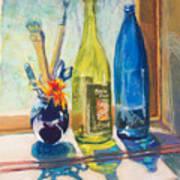 Light And Bottles Poster