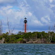 Lighthouse At Anclote Key Poster