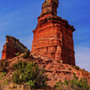 Lighthouse At Palo Duro Canyon Poster