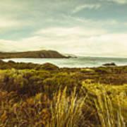 Lighthouse Bay Beach Bruny Island Poster