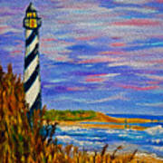 Lighthouse- Impressionism- The Coast Poster