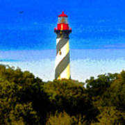 Lighthouse Of Saint Augustine Poster