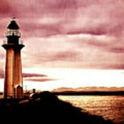 Lighthouse Park Poster