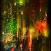Lights In The City Poster