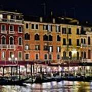 Lights Of Venice Poster