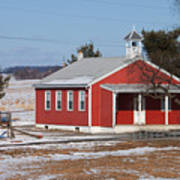 Lil Red School House Poster