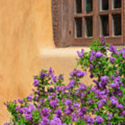 Lilacs And Adobe Poster