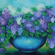 Lilacs No 3. Poster