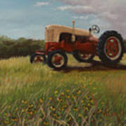 Lillians Tractor Poster