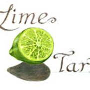 Lime Tart Poster