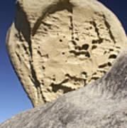 Limestone Rock Formation Poster