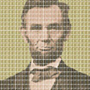 Lincoln - Gold Poster