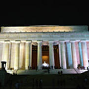 Lincoln Memorial - From Reflecting Pool Poster