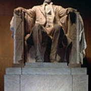 Lincoln Memorial: Statue Poster by Granger