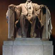 Lincoln Memorial: Statue Poster