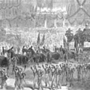 Lincolns Funeral, 1865 Poster