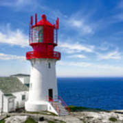 Lindesnes Lighthouse - Norway's Oldest Poster