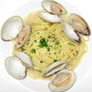 Linguine With Clams Poster