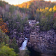 Linville Falls Poster