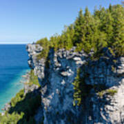 Lions Head Limestone Cliffs Poster