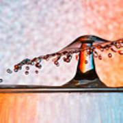 Liquid Umbrella Poster