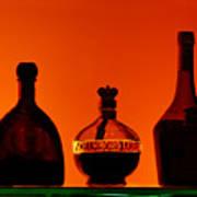 Liquor Still Life Poster