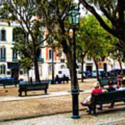 Lisbon High Park Poster