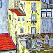 Lisbon Home Painting Poster
