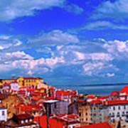 Lisbon Panorama Poster