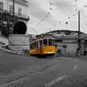 Lisbon Trolley 10c Poster