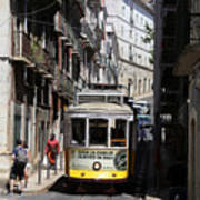Lisbon Trolley 16 Poster