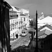 Lisbon Trolley 17b Poster