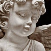 Little Angel - Sepia Poster