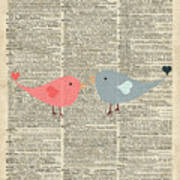 Little Birds Love Poster