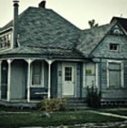 Little Blue House Poster